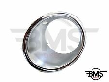BMW MINI One / Cooper Front Bumper Chrome Foglight Surround N/S R56 R55 R57