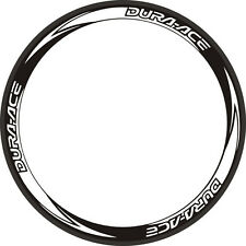 DURA ACE Reflective Decals Road Bike Stickers Wheelset Rim Decals For 2 WHEELS