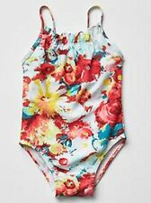 BABY GAP GIRLS FLORAL SWIMWEAR BATHING SUIT ONE PIECE SIZE 2 YEARS NEW