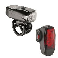 Lezyne KTV 2 Drive Set Pair Bike Bicycle Lights - USB Rechargeable - RRP£35