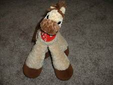 "Fun Kids Bestever Plush Horse Pony Funny Feet Stuffed Animal Farm Toy 12"" GUC"
