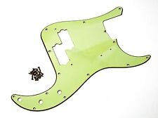 Aged 62 PB Pickguard Mint Green Montreux Retrovibe Fits To Precision Bass ®