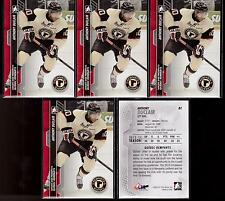 ANTHONY DUCLAIR 13/14 ITG Heroes & Prospects Lot of (5) Pre-Rookie #81 Rangers