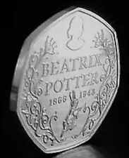 2016 50P COIN BEATRIX POTTER RARE FIFTY PENCE UNCIRCULATED NEW
