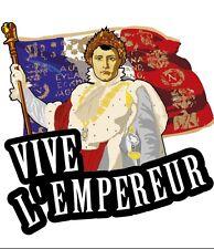 Napoleon Bonaparte French Emperor Car Windscreen Sticker