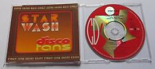 Star Wash - Disco Fans Maxi CD Single (6 TRACK MCD) - TECHNO ACID HARDCORE
