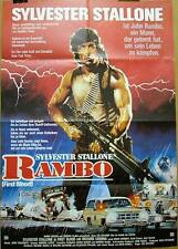 Sly Stallone RAMBO FIRST BLOOD original vintage 1 sheet movie poster 1982