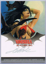 VAMPIRELLA; DAVID MICHAEL BECK AUTOGRAPH CARD