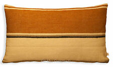 Pierre Frey Rayure Normande Stripe Brown Neutral Designer Cushion Pillow Cover