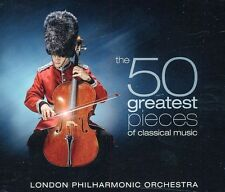 50 Greatest Pieces Of Classical Music - Orff/Bach/Gri (2011, CD NIEUW)4 DISC SET