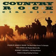 Country Rock Classics Charlie Daniels Band, Byrds, Rodney Crowell, Poco.. [CD]