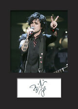 BILLIE JOE ARMSTRONG A5 Signed Mounted Photo Print - FREE DELIVERY