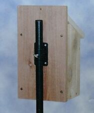 "1"" Pole Mounting Bracket for Bird House or Nesting Box"