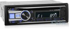 Alpine CDE-152 Single Din Car Stereo Receiver w/ AUX Input & USB Inputs