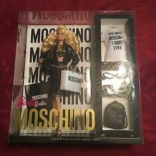 Moschino Barbie Doll Limited Edition Collector's Caucasian Blonde SOLD OUT