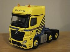 CORGI MIDDLEBROOK TRANSPORT MERCEDES ACTROS MP4 TRUCK CAB MODEL CC15811 1:50
