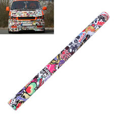"60""x20"" JDM illest Stickerbomb Graffiti Cartoon Vinyl Film Wrap Sticker Decal"
