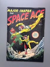 Major Inpak #1 Fine 1951 The  Space Ace Hard To Find!!