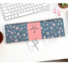 Iconic Desk Weekly Note Pad Pattern Planner Scheduler Book Notebook Scrapbook