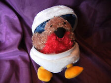 """'PREMIER' DECORATION CHRISTMAS 5"""" ROBIN IN A SNOWBALL SOFT TOY"""