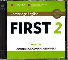Cambridge ENGLISH FIRST (FCE) 2 Audio CDs EXAMINATION PAPERS 2016 @CD Only!@ NEW