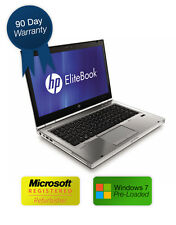 "HP Elitebook 8560p 15.6"" Intel i5 @ 2.5GHz, 4GB RAM, 250GB HDD & Extra Battery"