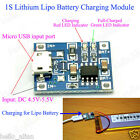5V Micro USB 1A Lithium Battery Charging Lipo Charger Module Board for Arduino