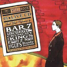 Wiil Rock 95.1 Live by Various Artists (CD, Jun-2001, Sar Records) BAR 7/INCUBUS