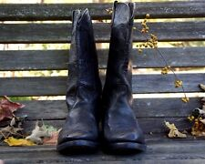 1990's Harley Davidson Black Leather Motorcycle Boots Men's Size 8.5 D Used