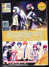 *NEW* ANGEL BEATS *13 EPISODES + OVA + CD*ENGLISH SUBTITLES*ANIME LOT*US SELLER*