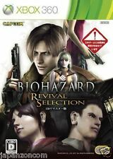 Used Xbox 360 Biohazard: Revival Select MICROSOFT JAPAN JAPANESE JAPONAIS IMPORT