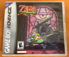 The legend of zelda the minish cap case Nintendo Game Boy Advance 2004 gba rpg