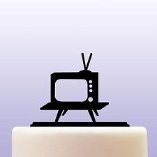 Televisión Retro De Acrílico Decoración Cake Topper