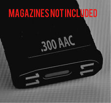 .300 AAC MAG STICKERS fits MAGPUL PMAG 30 GEN M3 AR15-M16-M4 GREY NUMBERS 7-12