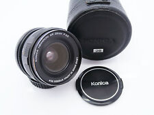 Konica Hexanon AR 28mm f3.5 Prime Wide Angle Lens Konica AR Mount Free UK P&P!