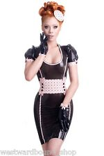 R1723 Rubber Latex Gummi DRESS UK 12 £239 WESTWARD BOUND *DESIGNED & MADE IN UK*