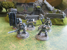 Warhammer 40 k Grey Knights Terminator Squad Painted (P197)
