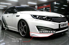 (Fits: KIA 2011-2013 optima K5) Voltex Front wing bumper 7 colors painted