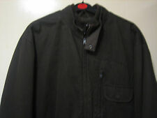 A LOVELY STYLISH MENS DARK GREEN JACKET BY ST GEORGE DUFFER  SIZE MEDIUM