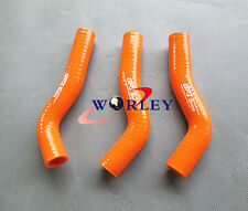 Silicone radiator hose for KTM 250 SXF SX-F XC-F 2007-2009 2008 07 08 09 orange