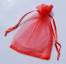 HOT SELL!25/50PCS ORGANZA GIFT BAGS WEDDING CHRISTMAS PARTY FAVOR PACKAGING POUC