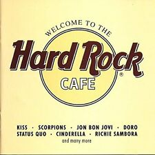 Welcome to the Hard Rock Cafe (1992) Kiss, Scorpions, John Bon Jovi, Doro.. [CD]