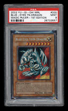 Yugioh BLUE-EYES TOON DRAGON MRL-000 Secret Rare 1st Edition PSA 9 Mint