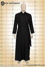 New greek orthodox inner cassock/ Black orthodox cassock
