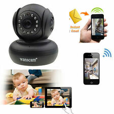 Wanscam Wireless Security IP Camera Baby/Pet/Home Monitor WiFi PTZ Spy Camera