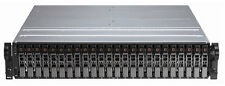 "Dell PowerVault MD1120 2U 24 bay 2.5"" SAS Storage Array 2 x contr 2xP  24 x cadd"