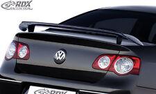 RDX alerón VW Passat b6 3c parte trasera alas alerón trasero atrás válvulas alerón