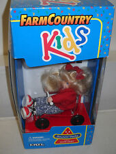 #7467 Vintage Ertl Play Ground Kids Farm Country Bouncin Becky & Her Cute Cart