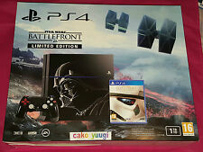 CONSOLE PS4 LIMITED EDITION STAR WARS DARK VADOR 1To BATTLEFRONT EDITION DELUXE