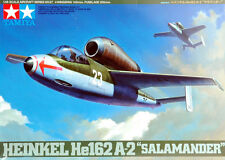 "Tamiya 61097 1/48 German HEINKEL He162 A-2 ""SALAMANDER"" from Japan Rare"